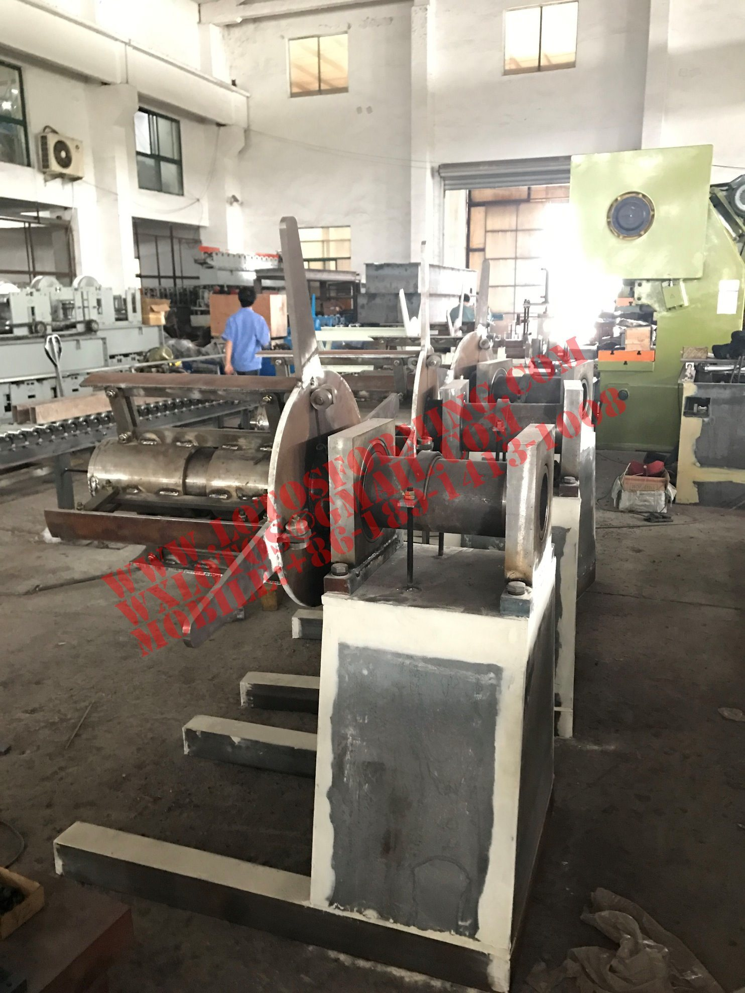 New Style Decoiler Machine Lts-1703