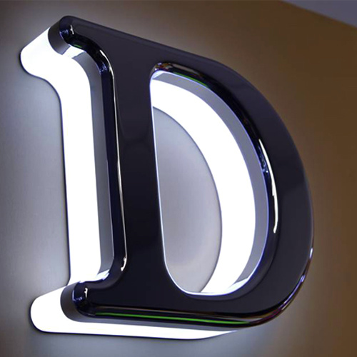 Illuminated 3D Letters Acrylic LED Sign LED Acrylic Logo Letters Advertising Acrylic LED Alphabet Letters LED Shop Sign