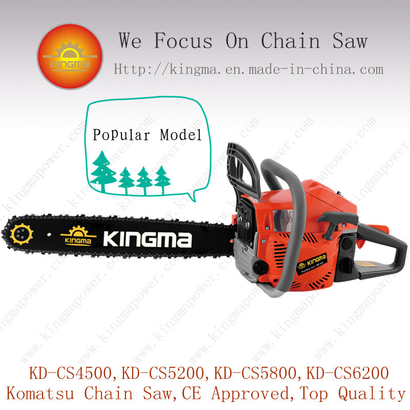 52cc Gas Chain Saw with Good Quality