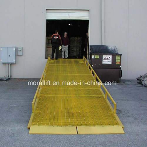 Mobile Hydraulic Dock Ramp for Loading/Unloading
