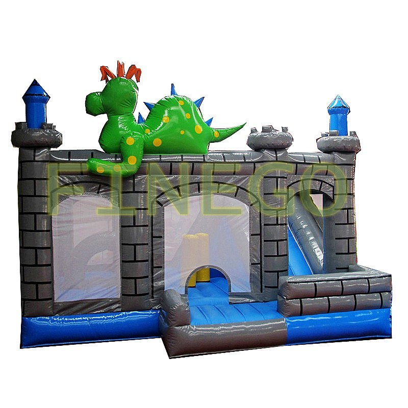 New Dinosaur Inflatable Bouncy Castle Jumper for Sale