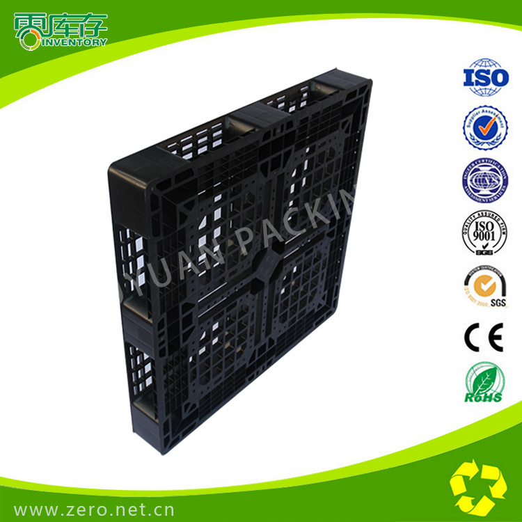Black Color Recyclable Logistics Tray Pallet