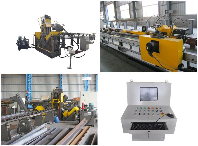 Used in Transmission Tower Industry High Speed CNC Drilling & Marking Machine for Angles