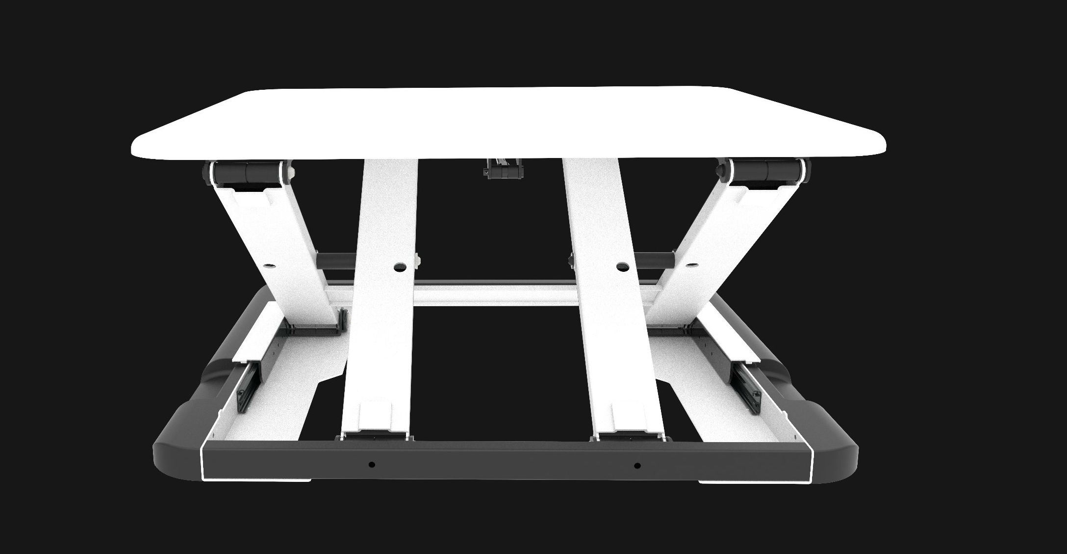 Super Slim Height Adjustable Desk (JN-LD04)