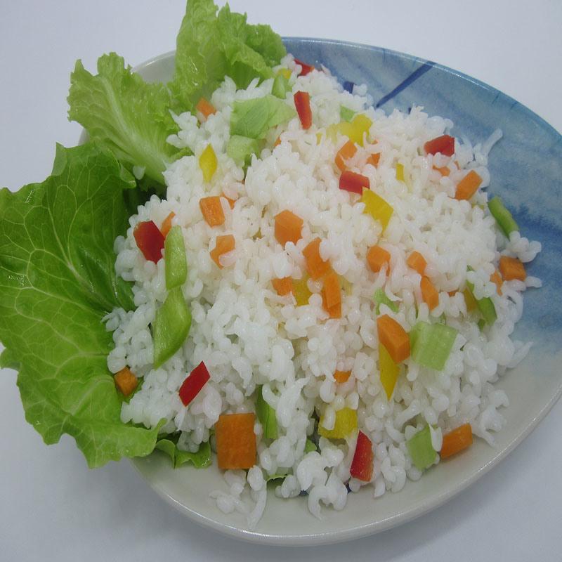 Gluten-Free Konjac Rice for Health
