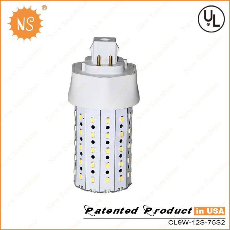 UL Listed Gx24q 4 Pin 1000lm 9W LED Corn Light