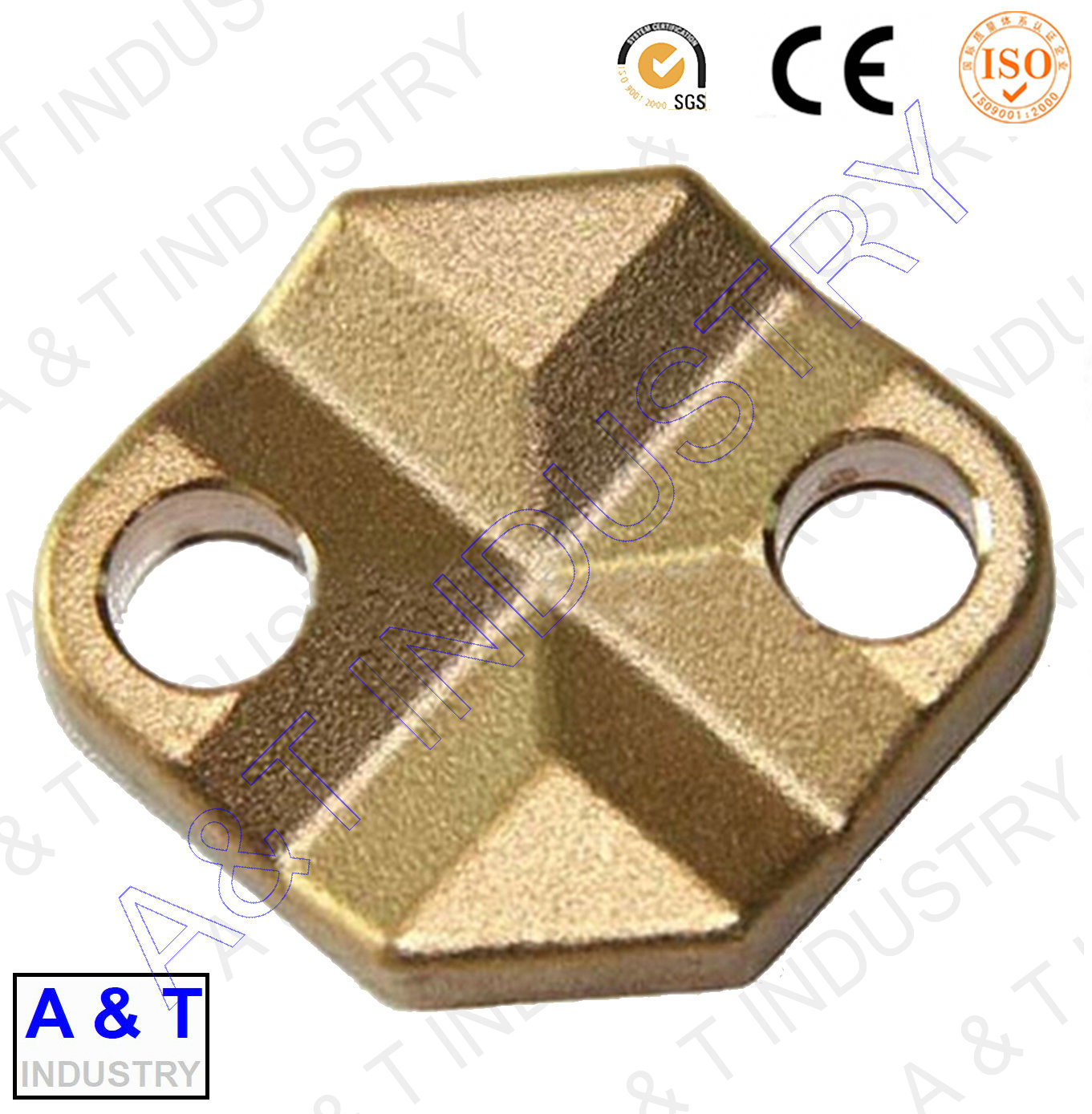 316 Stainless Steel /Brass/Copper OEM All Metal Steel Forging Parts
