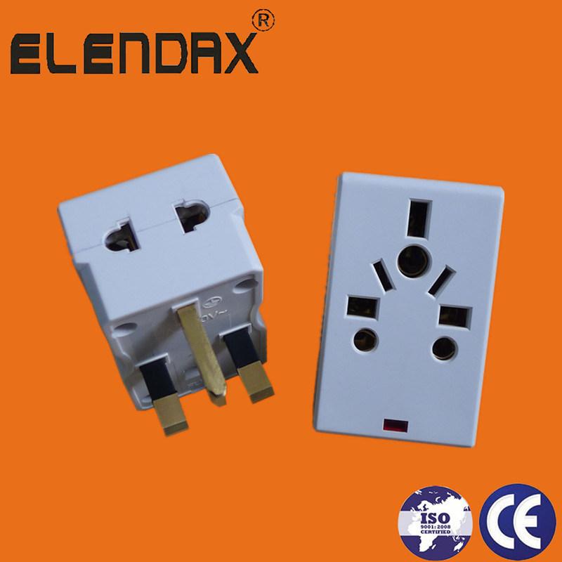 UK and British Style Travel Power Adaptor (P7037L)