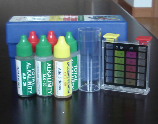 Swimming Pool Test Kit, Chlorine Test, pH Test