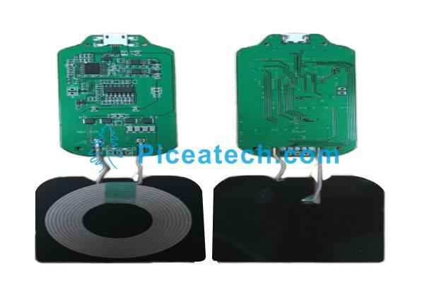 Qi PCBA DIY Wireless Charging Coil Charging Circuit Board