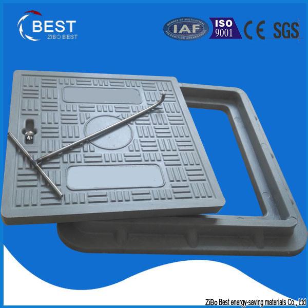 SMC Composite Manhole Cover with Lockable System