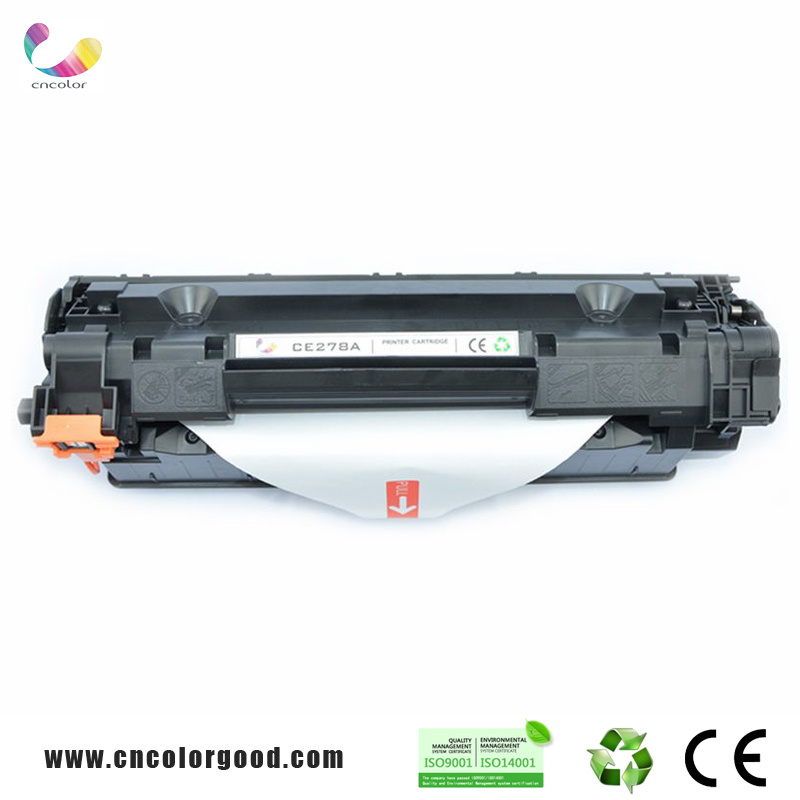 100% Original Black Toner Cartridge Ce278A/78A/85A/12A with High Yield Pages
