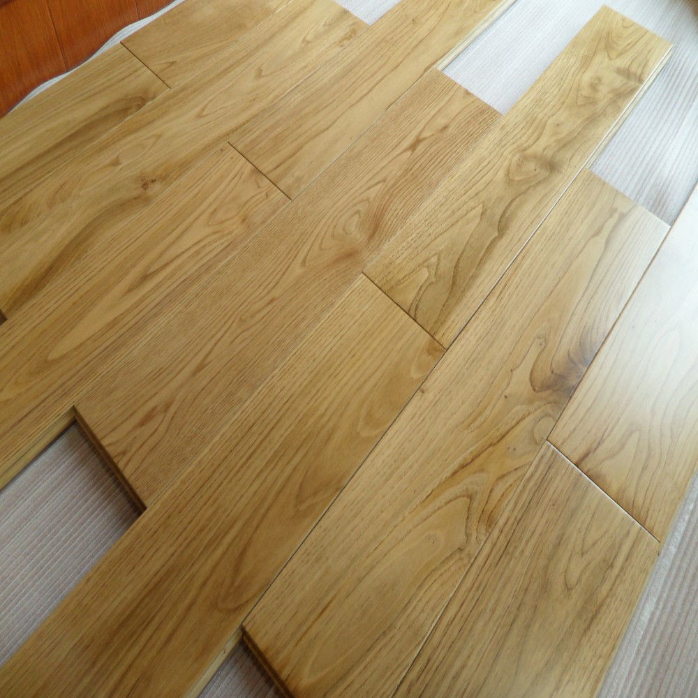Wood Flooring Product : China low price natural white oak timber engineered wood