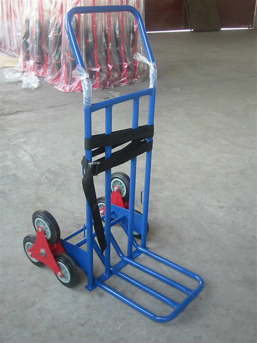 Heavy Duty Trolley, 3 Wheels Hand Trolley for Climbing Stairs Convertible Teleslopic