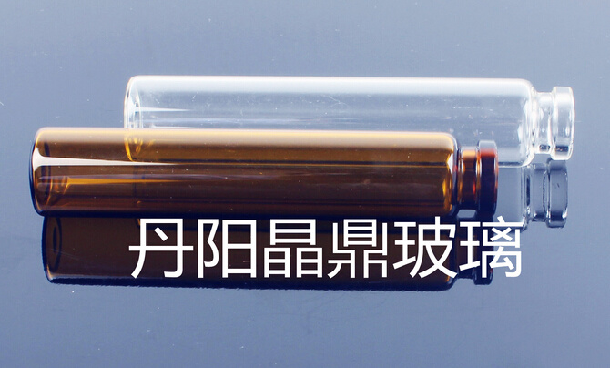 Clear Screwed Tubular Glass Bottle for Perfume Samples
