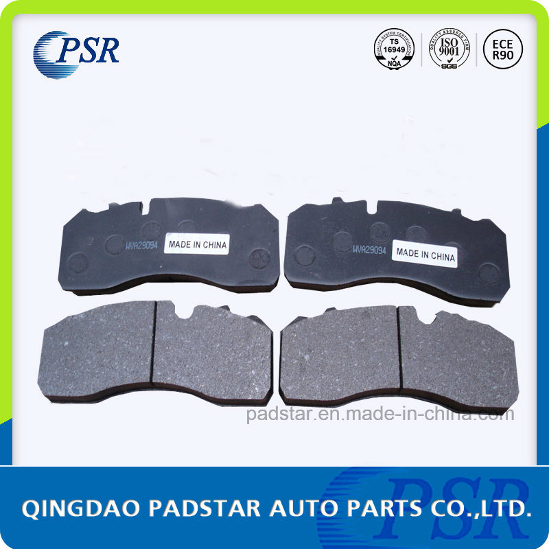 Heavy Duty Truck with European Certification Wva29094 Brake Pads