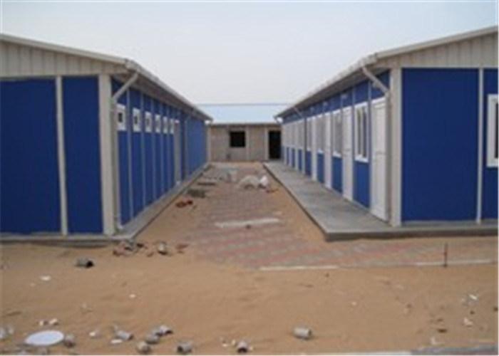 China modern economical prefabricated sandwich panel house - Sandwich panel homes ...
