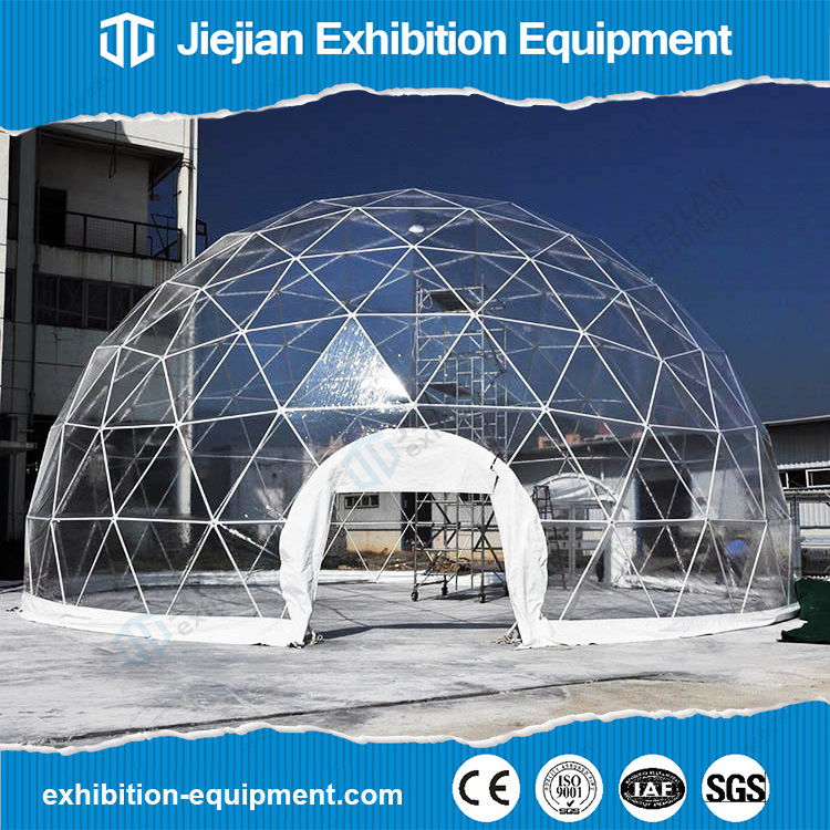 Clear Geodesic Dome Tent for Gathering