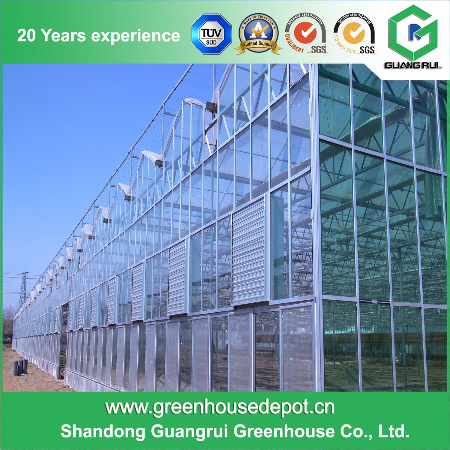 China Supplier Factory Price Single Layer PC Sheet Greenhouse
