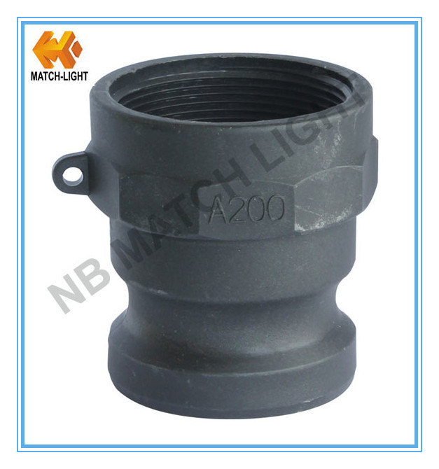 Polypropylene Injection Molding NPT Thread Camlock Coupling