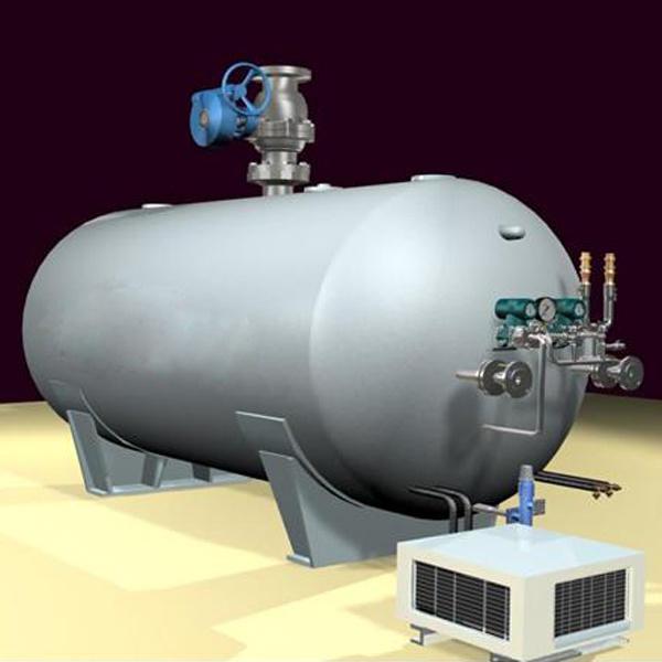 Low Pressure CO2 Fire Suppression Fire Extinguisher