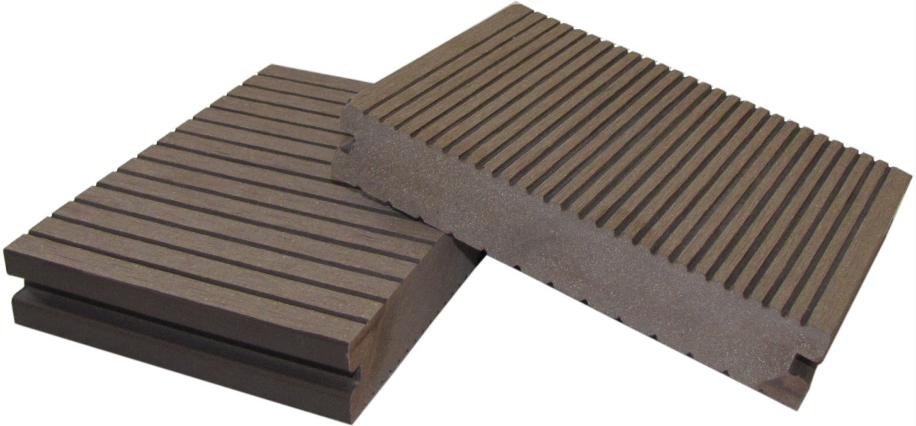 WPC Solid Decking Board for Outdoor