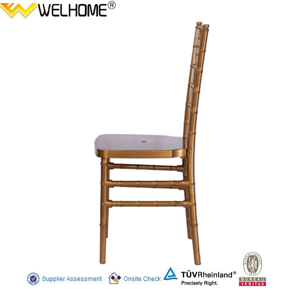 Hot Sale Resin Chiavari Chair/Tiffany Chair for Rental/Party/Wedding