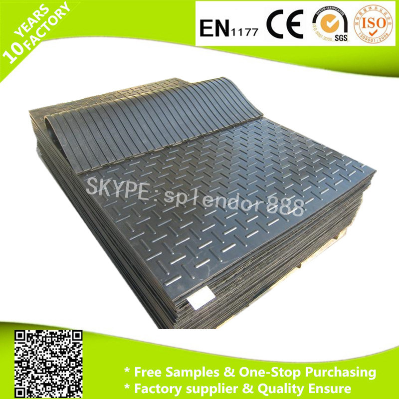 12mm 17mm Thickness Cow Horse Stable Flooring Rubber Mat