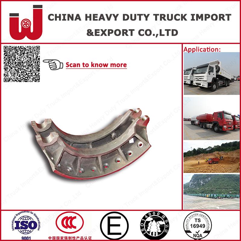 Heavy Duty Truck Rear Brakes Drum Brake System Parts Brake Shoes (199000340061) (199000440031)