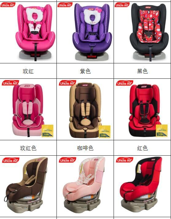 3-in-1 Harness Booster Children Safety Car Seat