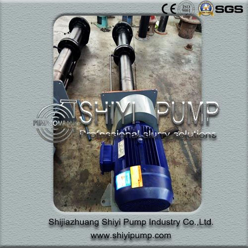Vertical Heavy Duty Water Treatment Mining Bulk Water Transfer Centrifugal Pump