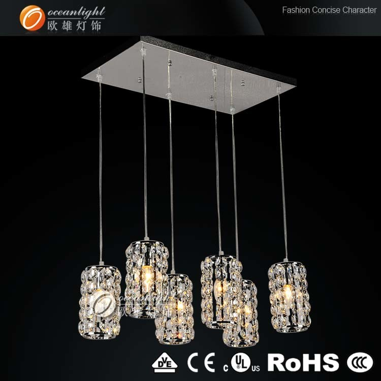 Egyptian Crystal Ceiling Chandelier Lamp (OM88147-6)