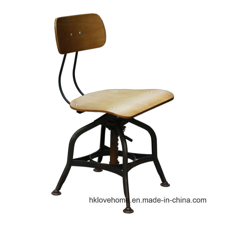 Modern Industrial Dining Turner Vintage Toledo Wooden Bar Stools Chair