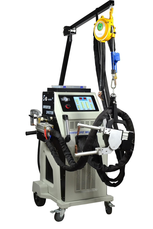 13000A IGBT Inverter Spot Welder for Auto Repair S6-Lxc