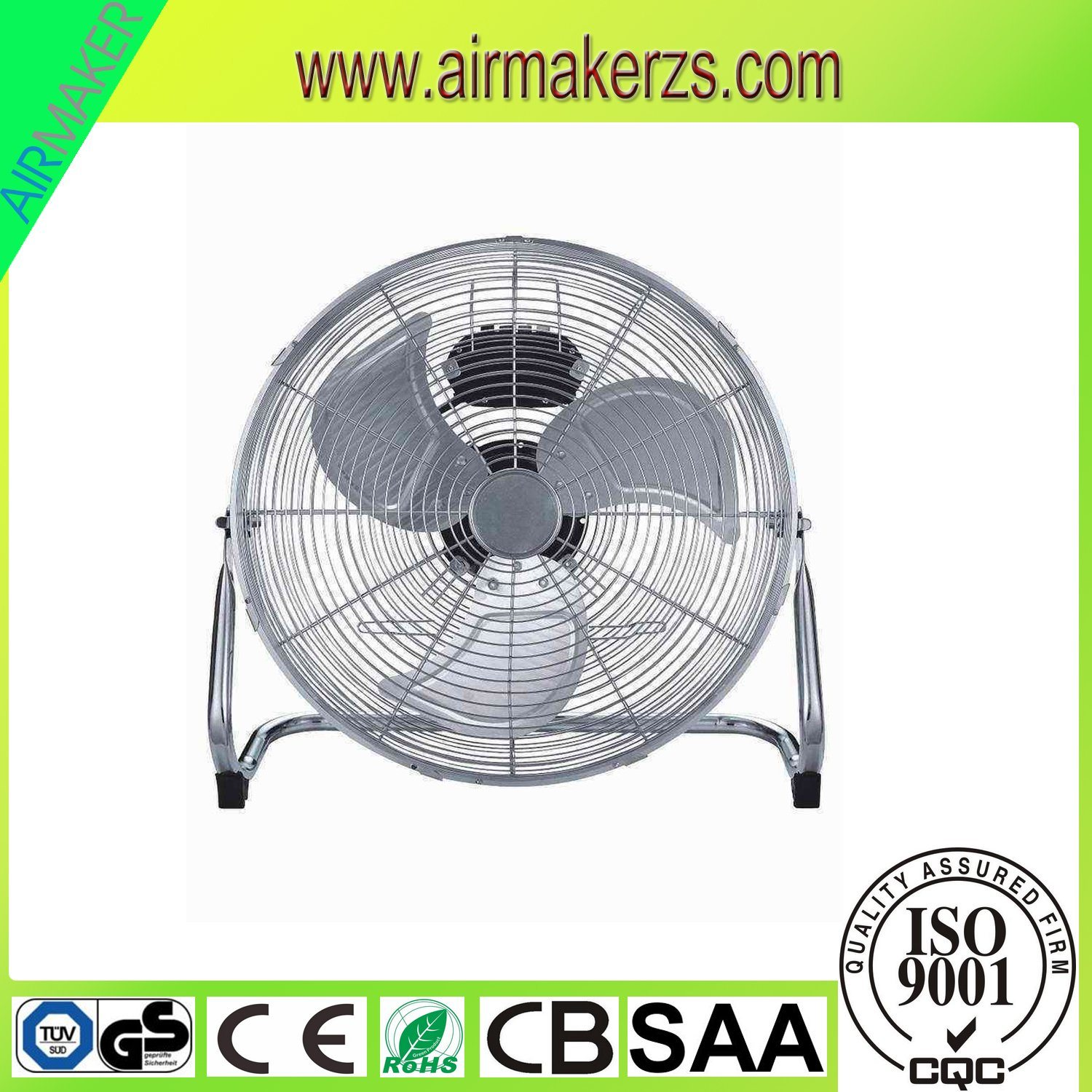 "20""Strong Air Delivery Floor Fan with CB/Ce/GS/SAA Approval"
