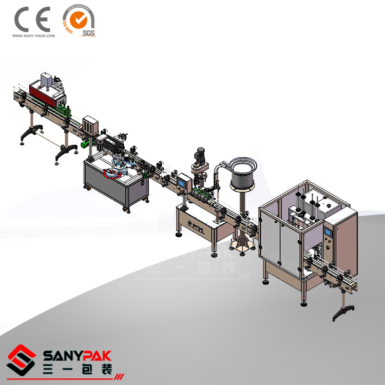 Vinegar/Beverage Liquid Filling Line for Packaging Use