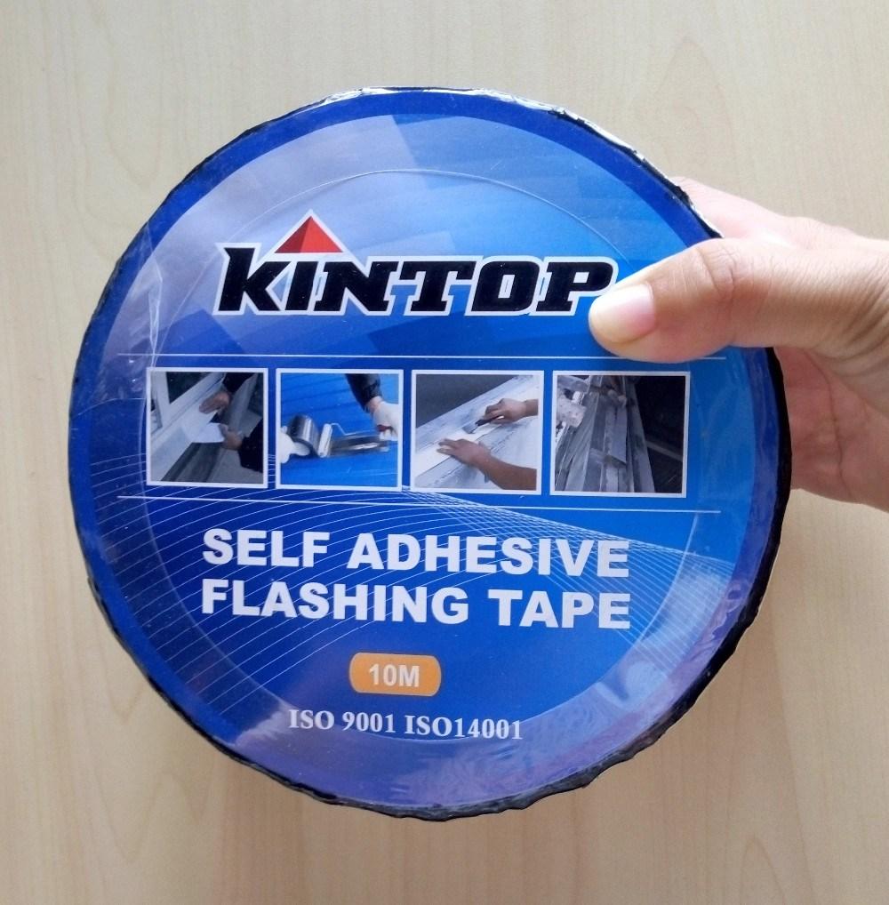 Adhesive Asphalt Flashing Tape/Bitumen Waterproof Band for Roofing