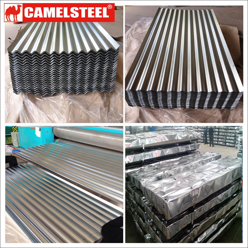 China Camelsteel Galvanized Corrugated Sheet