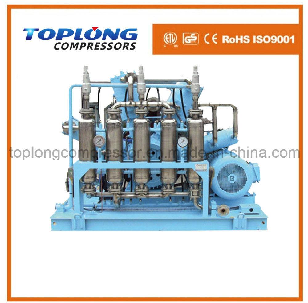 Oil Free High Pressure Helium Compressor Argon Compressor Booster (Gow-41/4-150 CE Approval)