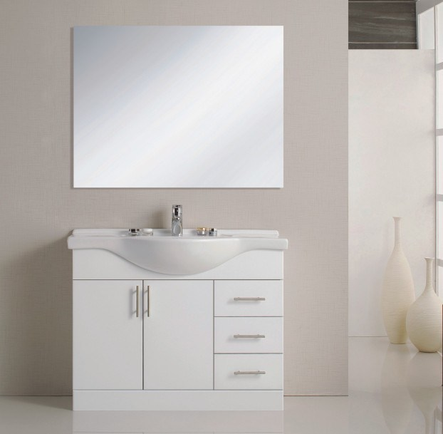 Simple European Bathroom Vanities Are Becoming More And More Popular The Vanities, While Similar In Style, Are Vastly Different In Their Appearance Utilizing Such Materials As Smoked, Tempered Glass, Polished Or Burnished Metals, And