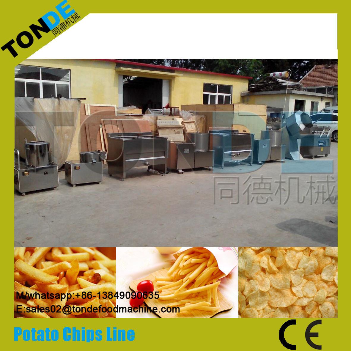 Semi Automatic Potato Plantain Chips Making Machine