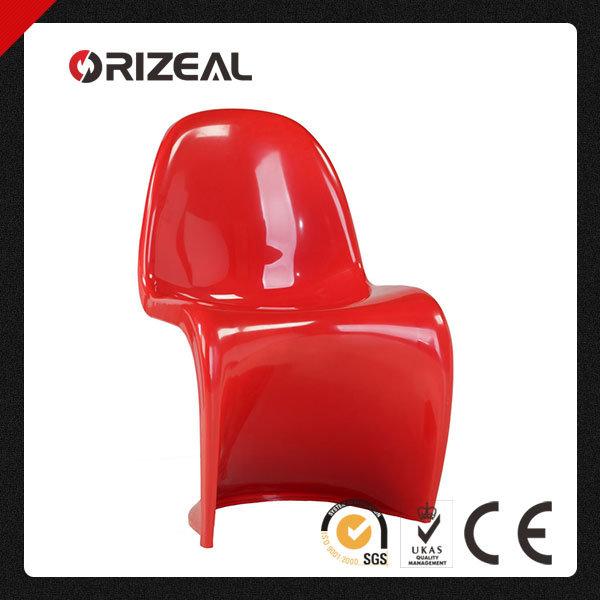 Replica Living Room Furniture Verner Panton S Plastic Dining Chair (OZ-1166)