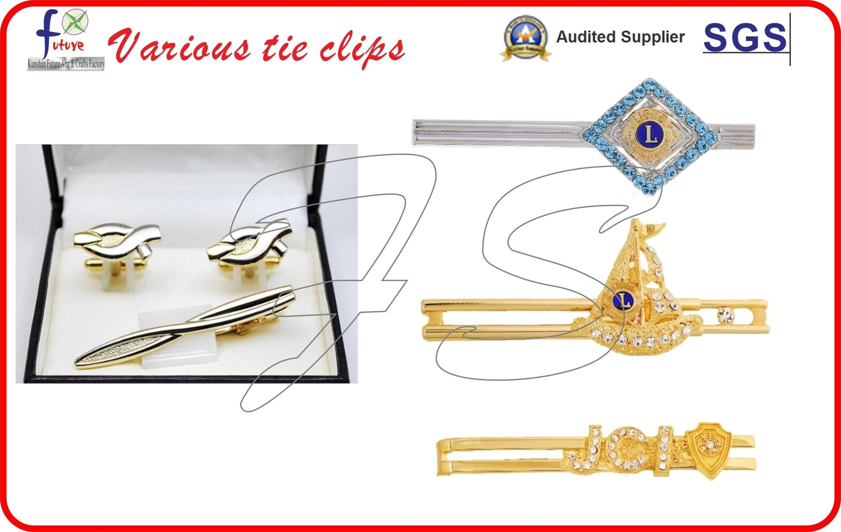 Tieclip and Cufflinks with Gift Box