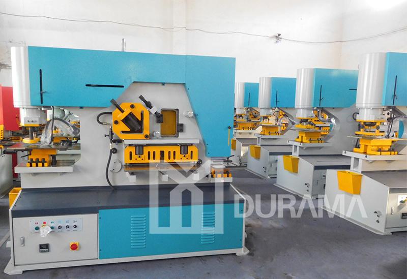 Durama Qualified Hydraulic Ironworker /Cutting Machine/ Ironwork Machine/Universal Punching & Shearing Machine / Cutting Machine / Punching Machine