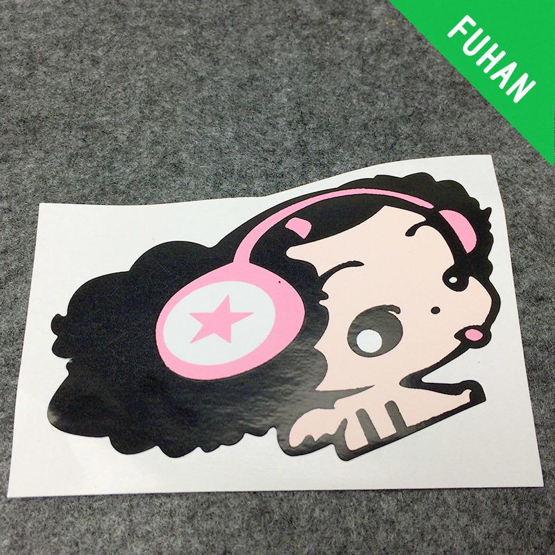Customized Printing Logo Self Adhesive Paper Label Sticker