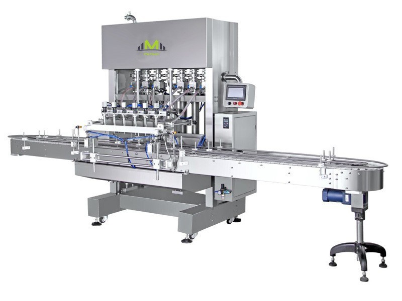 Mzh-F Automatic Glass Bottle Fruit Juice Filling Machine