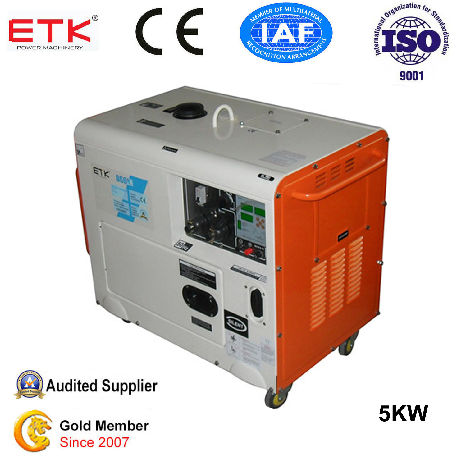 sel generator Changzhou ETK Power Machinery Co Ltd page 1