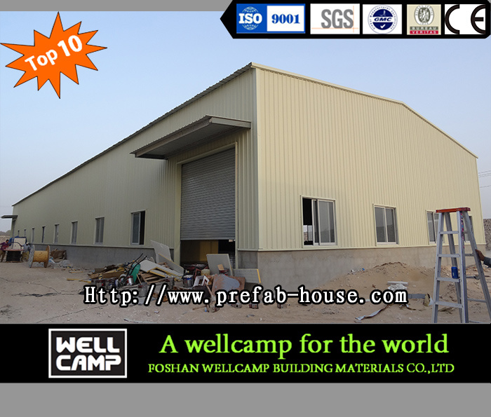 Eco-Friendly Strong Light Steel Structure Workshop