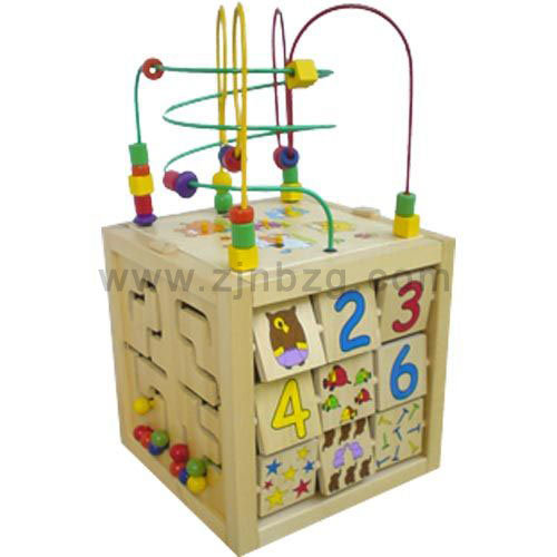 Wooden Cube Toys 37