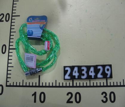 Plastic Door Iron Bicycle Lock